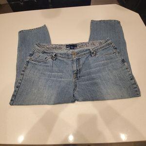 🐸 Avenue Plus Size Petite Womens Jeans